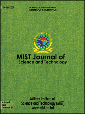 Vol. 5(1), 2017: MIST Journal of Science and Technology