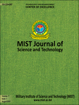 Vol. 7(1), 2019: MIST Journal of Science and Technology