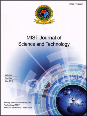 Vol 4 No 1 (2012): MIST Journal of Science and Technology