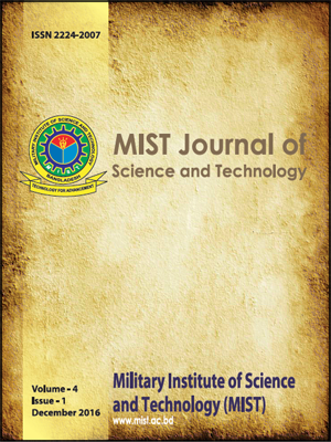 Vol. 4(1), 2016: MIST Journal of Science and Technology