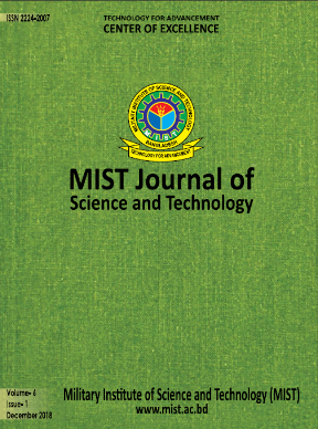 Vol. 6(1), 2018: MIST Journal of Science and Technology