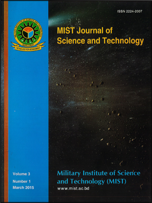 Vol. 3(1), 2015: MIST Journal of Science and Technology